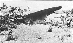 Laredo, Texas UFO crash